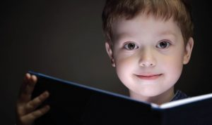 Learn and Leap boy learning